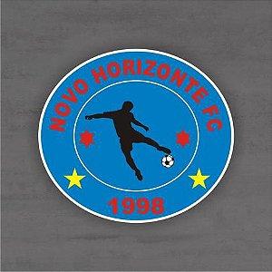 Quadro Decorativo de Times Futebol - Novo Horizonte - Mdf 3mm
