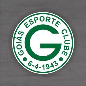 Quadro Decorativo de Times Futebol - Goiás - Mdf 3mm