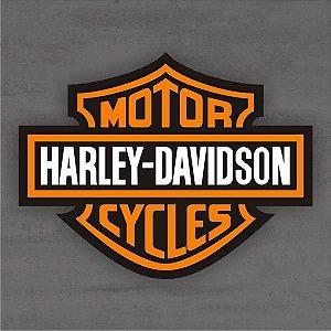 Quadro Decorativo de Bar - Harley Davidson - Mdf 3mm