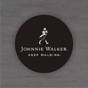 Placa Decorativa - Jhonnie Walker - Medida 33x33cm