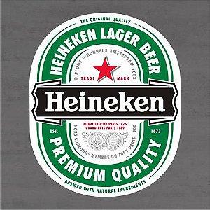 Quadro Decorativo de Bar - Heineken - Mdf 3mm