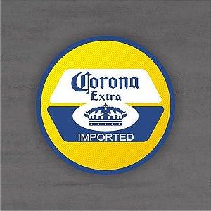 Placa Decorativa - Corona Extra - Medida 33x33cm