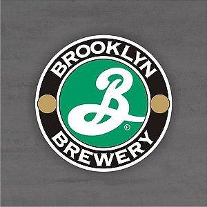 Placa Decorativa - Brooklyn Brewery - Medida 33x33cm