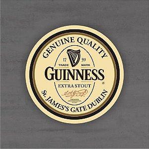 Placa Decorativa - Guinness - Medida 33x33cm