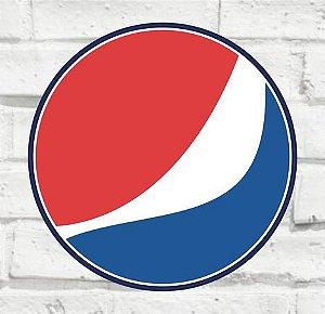Placa Decorativa - Pepsi - Medida 33x33cm