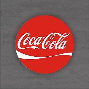 Placa Decorativa - Coca Cola - Medida 33x33cm