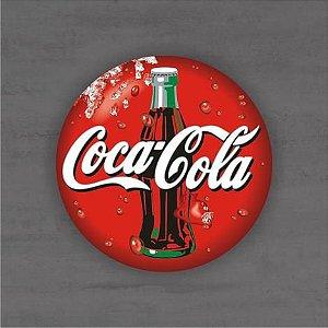 Placa Decorativa - Coca Cola Garrafa - Medida 33x33cm