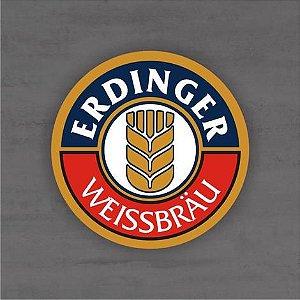 Placa Decorativa - Erdinger - Medida 33x33cm