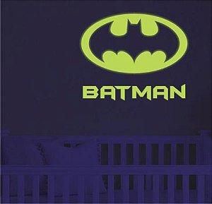 Adesivo Decorativo Brilha No Escuro Neon - Batman