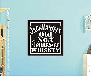 Adesivo De Whiskey - Jack Daniels - Grande