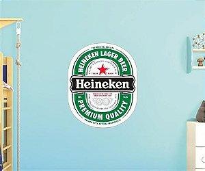 Adesivo De Cerveja - Heineken - Grande