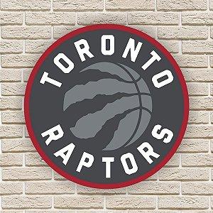 Quadro Decorativo Toronto Raptors Nba Basquete