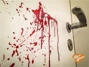 Lançamento Adesivo Halloween Mancha De Sangue Dia Das Bruxas
