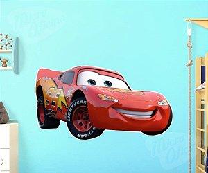 Adesivo Parede Decorativo Carros Disney Relâmpago Mcqueen