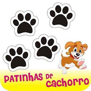 24 Adesivos Patinhas De Cachorro Pegadas Em Vinil!