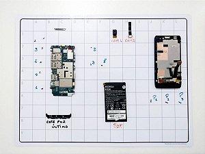 Manta Magnética Gabarito Parafuso iPhone Celular Notebook