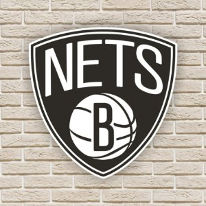 Quadro Decorativo Brooklyn Nets Nba Basquete