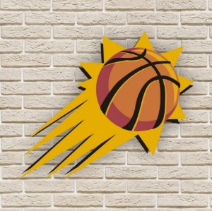 Quadro Decorativo Phoenix Suns Nba Basquete