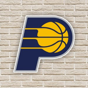 Quadro Decorativo Indiana Pacers Nba Basquete