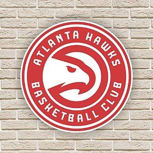 Quadro Decorativo Atlanta Hawks Nba Basquete
