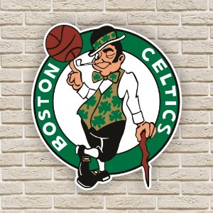 Quadro Decorativo Boston Celtics Nba Basquete