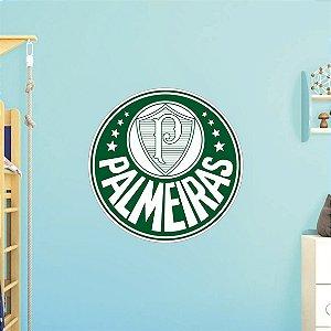 Adesivo De Time - Palmeiras - Grande - Medida: 64cm x 64cm