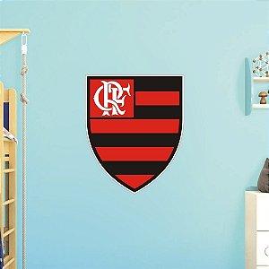 Adesivo De Time - Flamengo - Grande - Medida: 64cm x 77cm