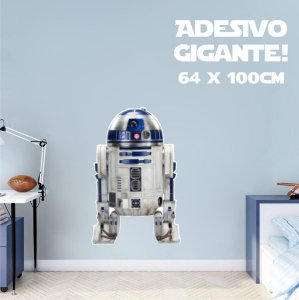 Adesivo De Parede Decorativo - Robô R2 D2 - Star Wars