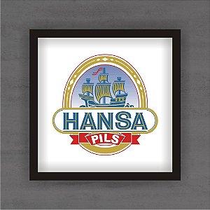 Quadro Decorativo Hansa Com Moldura