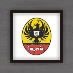 Quadro Decorativo Imperial Com Moldura
