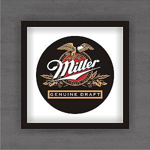 Quadro Decorativo Miller Com Moldura
