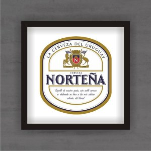 Quadro Decorativo Nortena Com Moldura