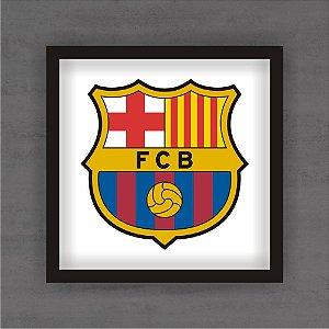 Quadro Decorativo Barcelona Com Moldura