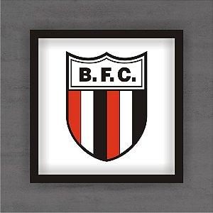 Quadro Decorativo Botafogo de Ribeirão Preto Com Moldura