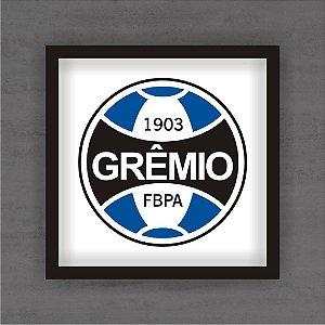 Quadro Decorativo Grêmio Com Moldura