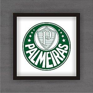 Quadro Decorativo Palmeiras Com Moldura