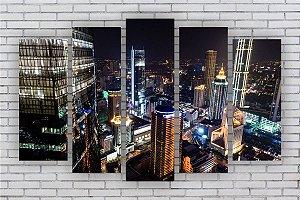 Quadro Decorativo Cidades Paisagens 108x67cm Sala Quarto
