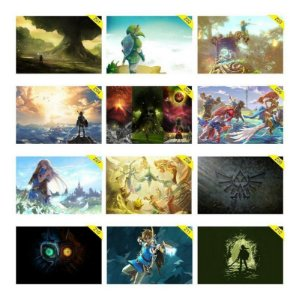 Quadros Placas Decorativas - Medida: 30 cm x 20 cm The Legend Of Zelda