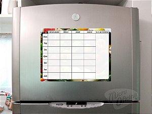 Ímã De Geladeira Personalizado - Planejamento
