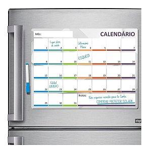 Ímã De Geladeira - Porta Recados - Planner - Mensal