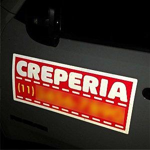 Manta Magnética Refletiva Para Propaganda Carro Veículo Van