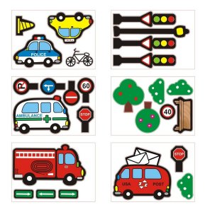 Adesivo De Parede Decorativo Carros Adicionais