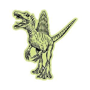 Adesivo Brilha No Escuro Dinossauro Terror 49 Cm X 45 Cm