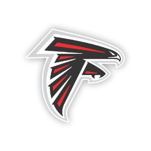 Quadro Decorativo NFL Futebol Americano Atlanta Falcons