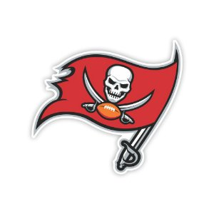Quadro Decorativo NFL Futebol Americano Tampa Bay Buccaneers