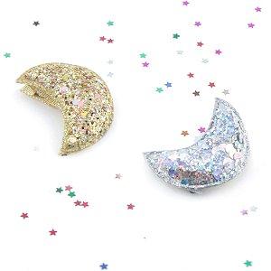Presilha Lua Glitter - 2 Cores