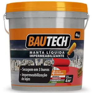 Bautech Manta Liquida Branca 4kg