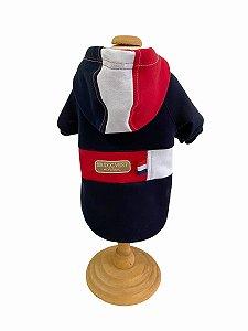 CASACO MOLETOM TRICOLOR - Dudog Vest