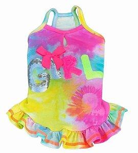 Vestido Tie Dye Colors - Mallo