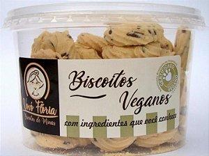 Biscoito vegano sabor flocos 250g - Vovó Flória